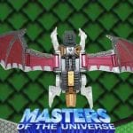 Skeletor Bat Flight-Pak from the Masters of the Universe 200x Modern Series toy line.