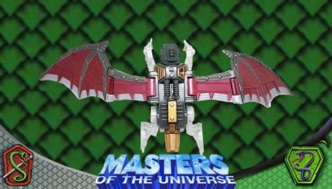 Skeletor Bat Flight-Pak 2003 Masters of the Universe 200x Modern Series Vehicle