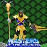 Skeletor repaint from the Masters of the Universe 200x Modern Series toy line.