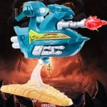Sky Sled from the Masters of the Universe Origins toy line.