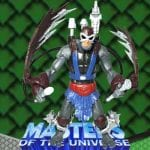 Sky Strike Stratos action figure from the Masters of the Universe 200x Modern Series toy line.