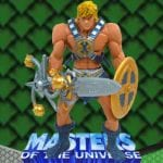 Smash Blade He-Man action figure from the Masters of the Universe 200x Modern Series toy line.