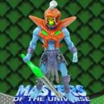 Snake Armor Skeletor action figure from the Masters of the Universe 200x Modern Series toy line.