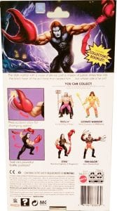 Sting WWE Masters of the Universe Package Back