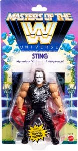 Sting WWE Masters of the Universe Package Front