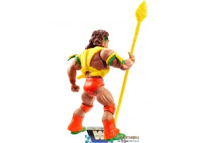 Ultimate Warrior WWE Masters of the Universe Back View