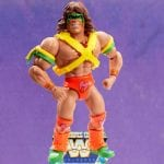Ultimate Warrior from the WWE Masters of the Universe toy line. Find other figures, weapons, vehicles, and accessories using the Weapons Rack.