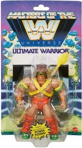 Ultimate Warrior WWE Masters of the Universe Package Front