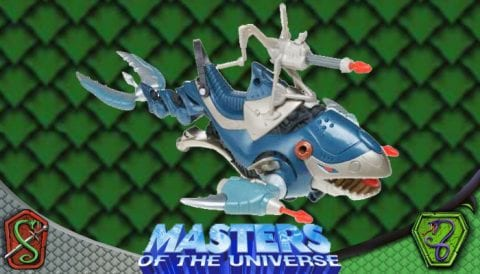 War Whale 2003 Masters of the Universe 200x Modern Series Vehicle