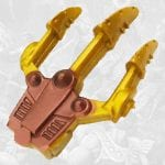 Wolf Armor He-Man claw from the Masters of the Universe 200x Modern Series toy line.