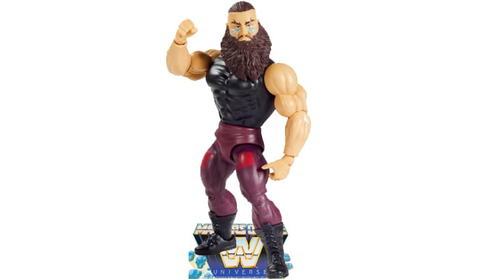 Braun Strowman from the WWE Masters of the Universe toy line.