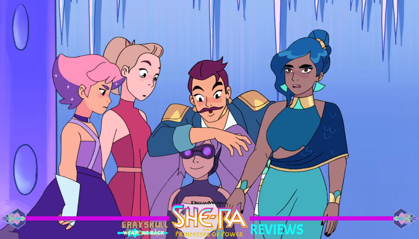 Glimmer and Adora meet up with Entrapta, Mermista and Sea Hawk