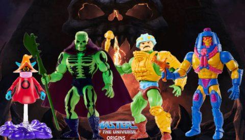 Scareglow Man-At-Arms Man-E-Faces Orko Masters of the Universe Origins Figures on Walmart.com