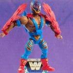 Rey Mysterio from the WWE Masters of the Universe toy line.