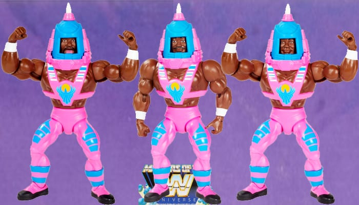 The New Day from the WWE Masters of the Universe toy line.