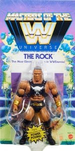 The Rock WWE Masters of the Universe Package Front