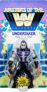 Undertaker WWE Masters of the Universe Package Front