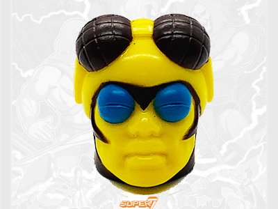 Buzz Off Filmation Head 2019 Vintage Super7 Masters of the Universe Accessory