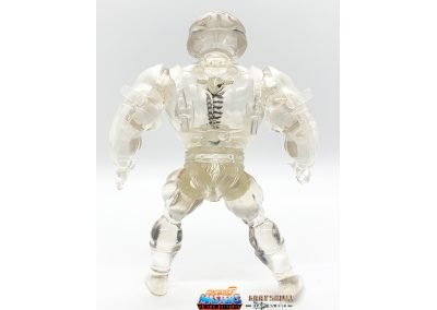Crystal Man-At-Arms Vintage Super7 Masters of the Universe Figure back view