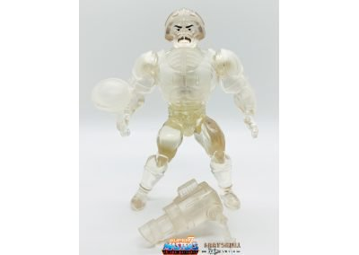 Crystal Man-At-Arms Vintage Super7 Masters of the Universe Figure geared up