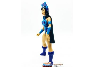 Evil-Lyn Vintage Super7 Masters of the Universe figure left side view