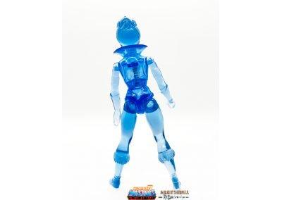 Frozen Teela Vintage Super7 Masters of the Universe Figure back view