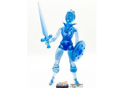 Frozen Teela Vintage Super7 Masters of the Universe Figure geared up