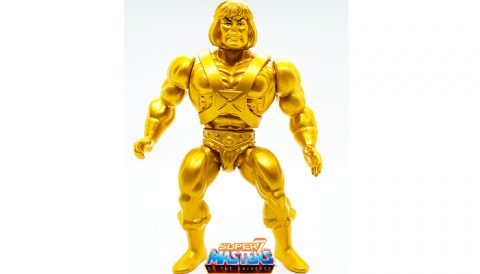 Gold Statue He-Man 2019 Vintage Super7 Masters of the Universe Figure