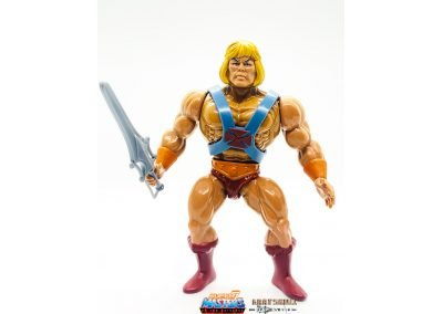 He-Man Vintage Super7 Masters of the Universe Figure geared up