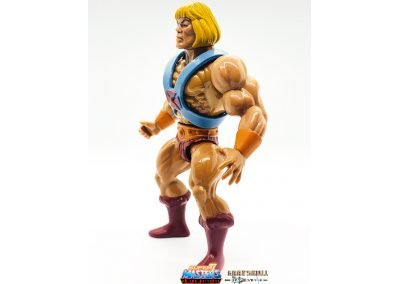 He-Man Vintage Super7 Masters of the Universe Figure left side view