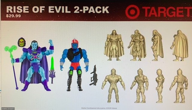 Keldor Kronis Rise of Evil 2-Pack Masters of the Universe Origins Figures