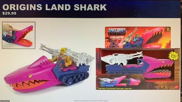Land Shark Masters of the Universe Origins Vehicle