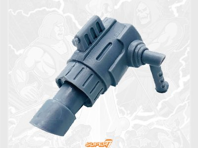 Man-At-Arms Cannon 2019 Vintage Super7 Masters of the Universe Weapon