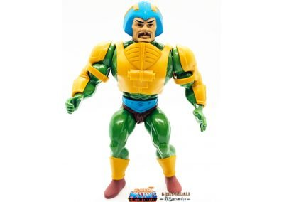 Man-At-Arms Vintage Super7 Masters of the Universe figure front view