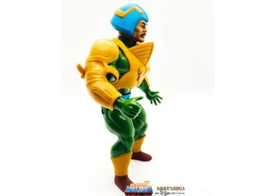 Man-At-Arms Vintage Super7 Masters of the Universe figure right side view