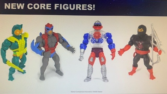 Mer-Man Roboto Stratos Ninjor Masters of the Universe Origins Figures