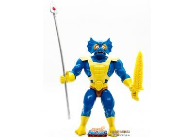 Mer-Man 2019 Vintage Super7 Masters of the Universe Figure geared up