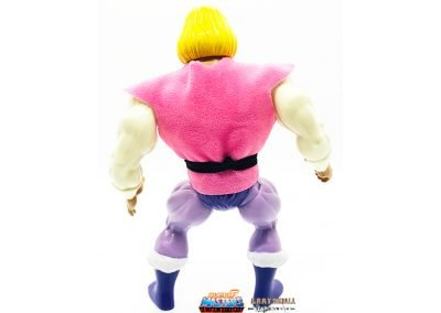 Prince Adam 2019 Vintage Super7 Masters of the Universe Figure back view