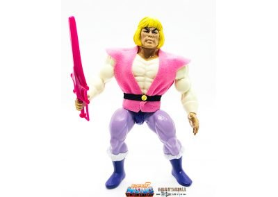 Prince Adam 2019 Vintage Super7 Masters of the Universe Figure geared up