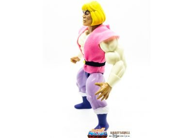 Prince Adam 2019 Vintage Super7 Masters of the Universe Figure left side view