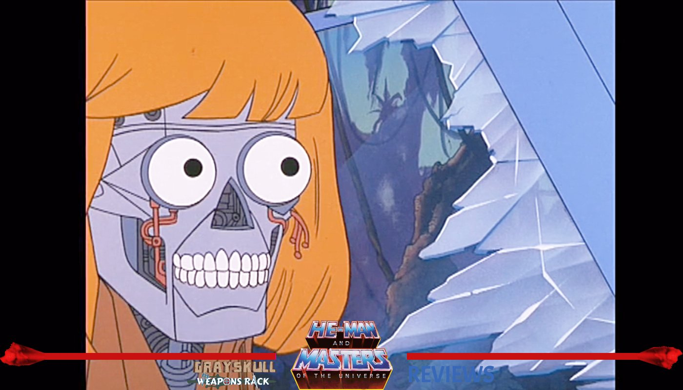 Robot He-Man as he appeared in the Masters of the Universe Filmation Cartoon