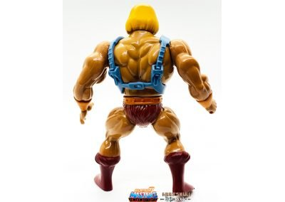Robot He-Man Vintage Super7 Masters of the Universe Figure back view