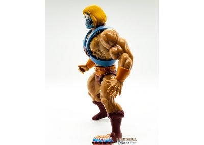 Robot He-Man Vintage Super7 Masters of the Universe Figure left side view