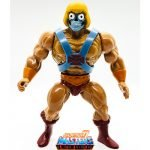 Robot He-Man action figure from the Vintage Super7 Masters of the Universe toy line.