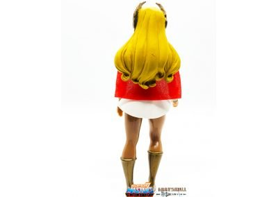 She-Ra Vintage Super7 Masters of the Universe Figure Back View
