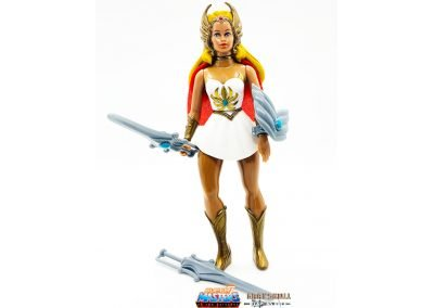 She-Ra Vintage Super7 Masters of the Universe Figure Geared Up