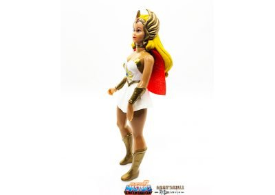 She-Ra Vintage Super7 Masters of the Universe Figure Left Side View