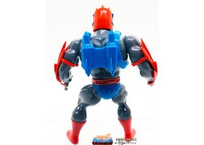 Stratos Vintage Super7 Masters of the Universe Figure Back View
