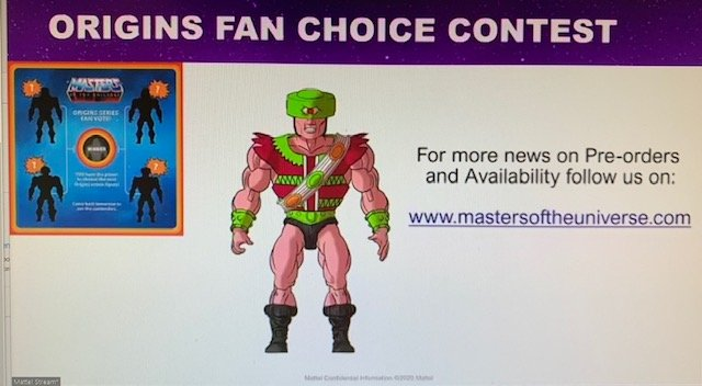 Tri-Klops Fans Chpice Masters of the Universe Origins Figure