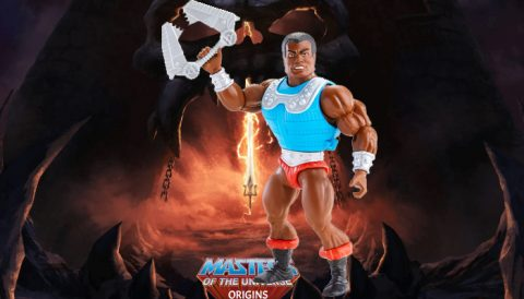 Clamp Champ 2021 Deluxe Masters of the Universe Origins Figure